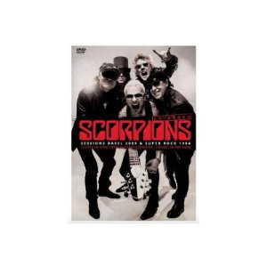 DVD Scorpions - Em Dobro - Sessions Basel 2009 + Super Rock 1984