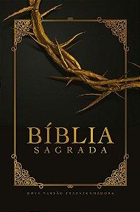 BIBLIA NVT LG CAPA SOFT TOUCH - COROA DE ESPINHOS