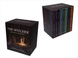 The Witcher - Box capa clássica