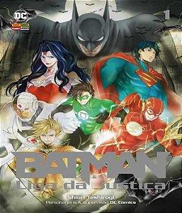 Batman & A Liga Da Justiça (Mangá Da Dc)