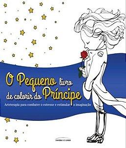 O Pequeno Príncipe para colorir