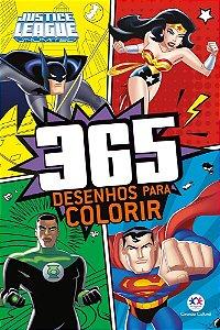 Liga da Justiça - 365 desenhos para colorir