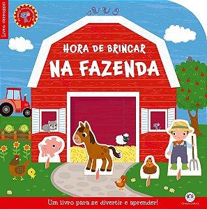 Hora de brincar na fazenda: um livro para se divertir e aprender!