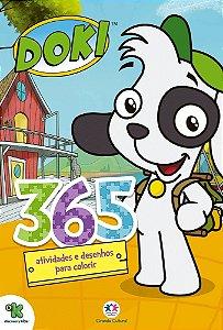 Doki - 365 atividades e desenhos para colorir