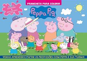 Peppa Pig - Prancheta para colorir