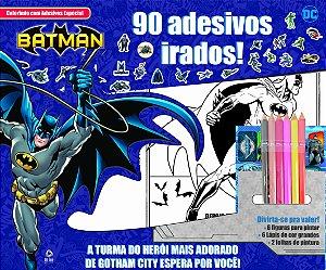 Batman - colorindo com adesivos especial