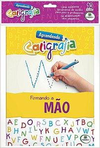 Aprendendo caligrafia II - Kit com 10 unidades