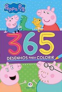 Peppa Pig - 365 Desenhos para colorir