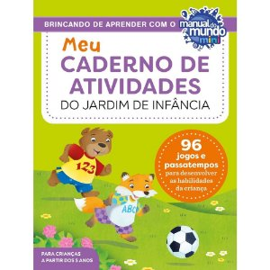 Meu caderno de atividades do jardim de infância