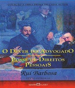 Dever do advogado, o - posse de direitos pessoais - 03 ed