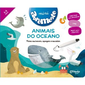 Abremente mini - Animais do oceano