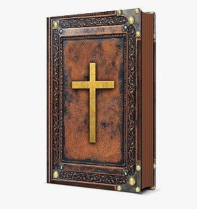Bíblia Sagrada vintage marrom - NVI