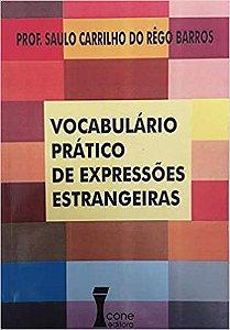 Vocabulario Pratico De Expressoes Estrangeiras