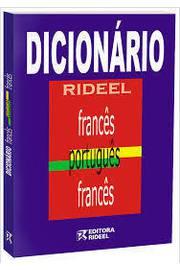 Dicionário Rideel Francês Português Francês