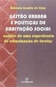 Gestao Urbana E Politica De Habitacao Social