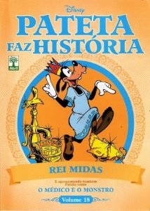 Pateta Faz História - Rei Midas - Volume 18