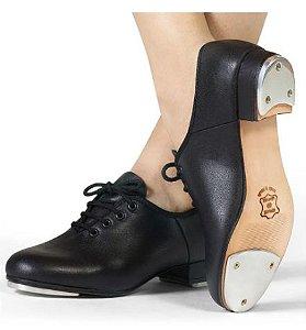 Sapato De Sapateado C/ Cadarço E Chapinha - Capezio