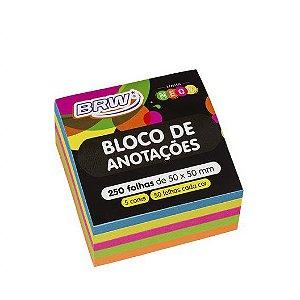 Bloco Smart Notes Colorido Neon - BRW
