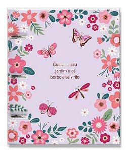 Caderno Argolado Planner Borboletas - Fina Ideia