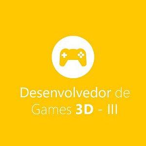 Desenvolvedor de Games 3D - Módulo 3