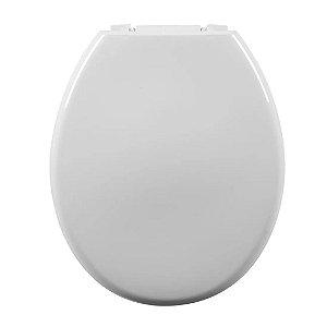 Assento Sanitário Oval Almofadado Astra Branco 1