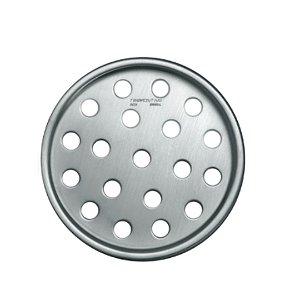 Ralo Redondo Tramontina em Aço Inox 10 cm