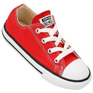 Tênis Infantil Converse Chuck Taylor All Star Baby - Vermelho