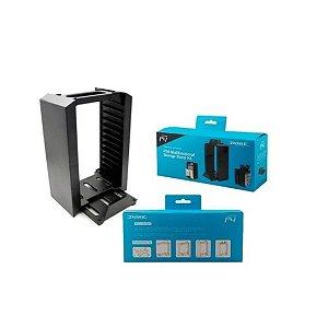 Suporte Dobe para PS4 multifuncional storage stand kit