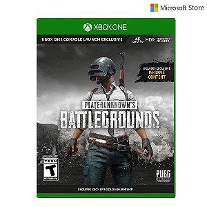 Playerunknown's Battlegrounds  Microsoft Xbox One Fisico