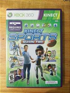 Sports Season 2 Kinect Xbox 360
