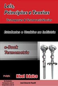 e-Book Digital Nível Básico - Leis, Princípios e Teorias – Termopar & Pt-100