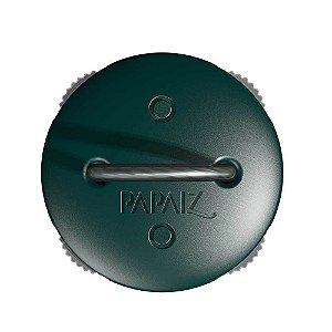 Cadeado com Segredo e Haste de Aço Flexível 7cm Zamac Verde Papaiz