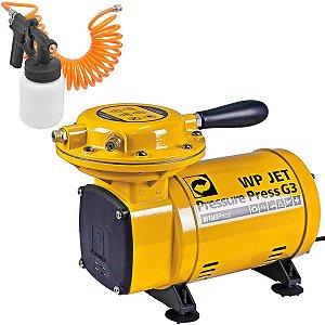 Compressor Ar Direto Pressure Jet Press Wpjetg3 110/220v Wp1