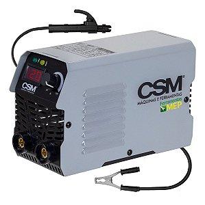 Máquina De Solda Inversora Portátil Kende 120a 220v Csm120