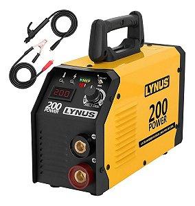 Inversora De Solda Eletrodo Lynus Lis-200 Power Bivolt L20