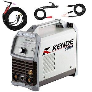 Máquina De Solda Tig Eletrodo Kende Kdws-200d Kt2