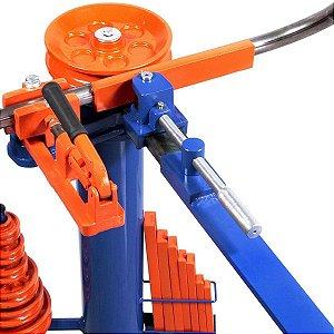 Dobrador Curvador De Tubos Manual Matrizes De 3/8 A 1 ½ Com 8 Matrizes Dt4