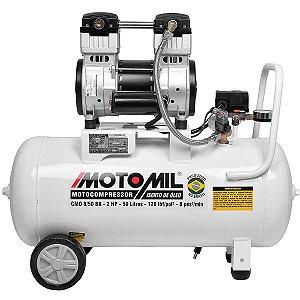 Compressor De Ar Médico Odontológico Motomil Cmo-8/50 220v Monofásico 60hz Co1