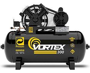 Compressor De Ar 10 Pcm/100 L Pressure Vortex 300 220v Monofásico Pinturas Cm1