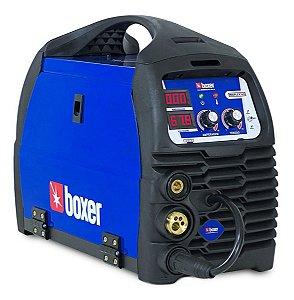 Máquina De Solda Mig Flex Tig Eletrodo Boxer Soldas Migflex160 Bivolt Te6