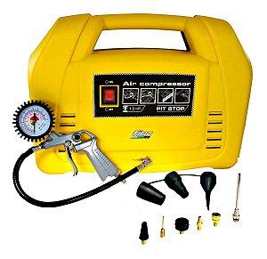 Compressor De Ar Direto 1,5hp 110v Fiac Calibrador Pitstop
