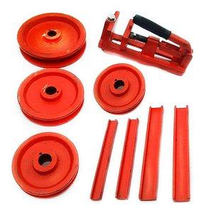 Kit de Matrizes para Metalon Quadrado para Curvador Kqf