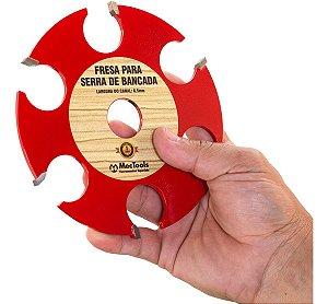 Disco de Widea Para Serra de Bancada de Fresar Madeira Dw2