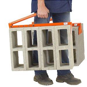 Transportador de Blocos Tijolos Cap. 40kg 2pçs Mectools Cb2