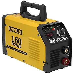 Inversora de Solda Eletrodo Tig Lynus Lis160 160a Bivolt L16