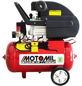 Compressor de Ar Motomil 7,6 pés 24 litros 220v 2hp Cm5