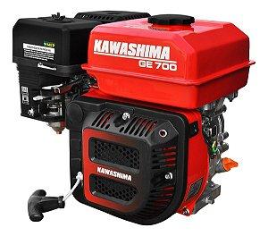 Motor a Gasolina Kawashima Ge700 7hp 212cc Partida Manual K7m