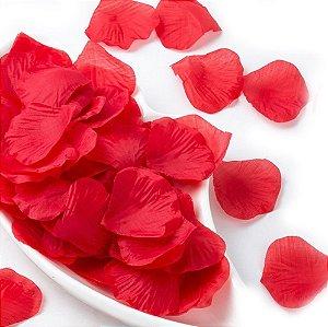 100 Pétalas De Rosas Vermelhas