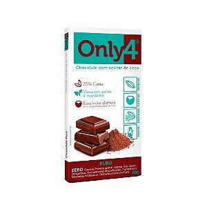 CHOCOLATE 70% CACAU  80G ONLY4