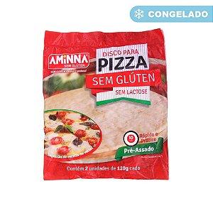 DISCO DE PIZZA SEM GLÚTEN 250G AMINNA